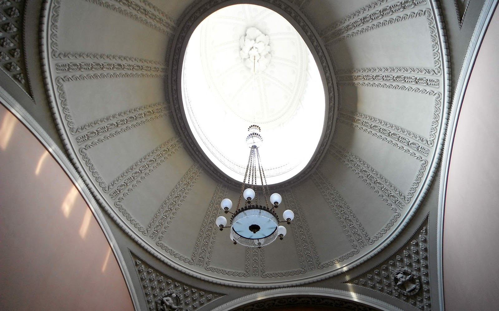 Glass dome at Chillington Hall