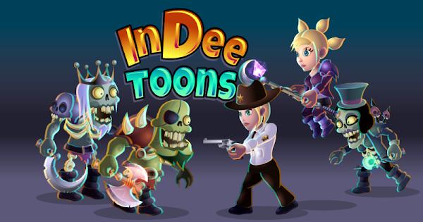Customizable Game Characters: InDee Toons Kickstarter