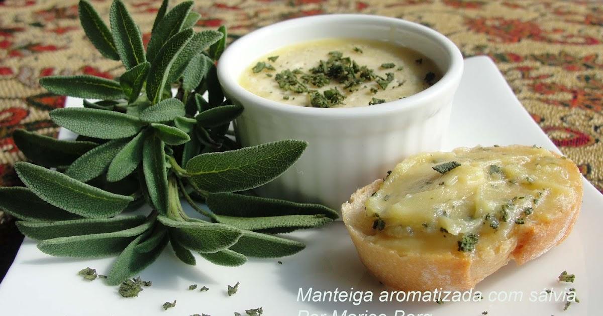 Ayurvedicamente: Manteiga aromatizada com Sálvia fresca