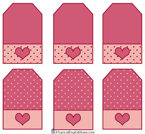 A Typical English Home: Free Valentine\'s Party Printables