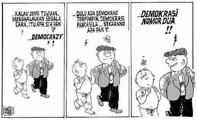 demokrasi,politik,kartun,karikatur, lucu,humor
