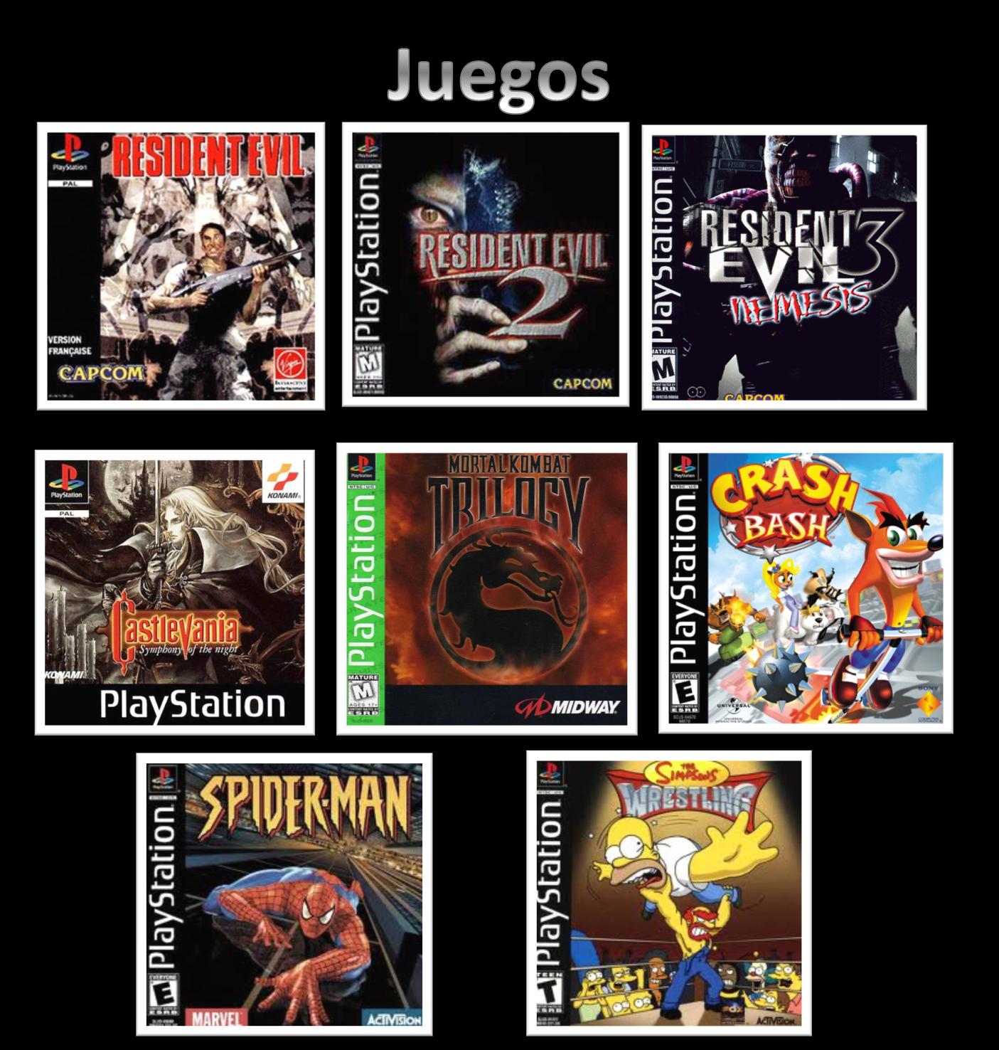 1 juegos com: