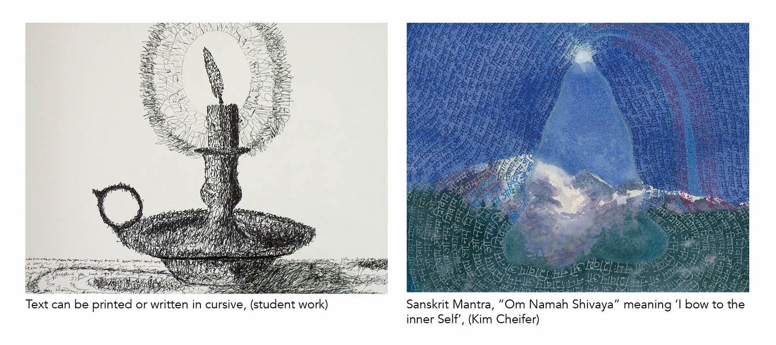 text art examples