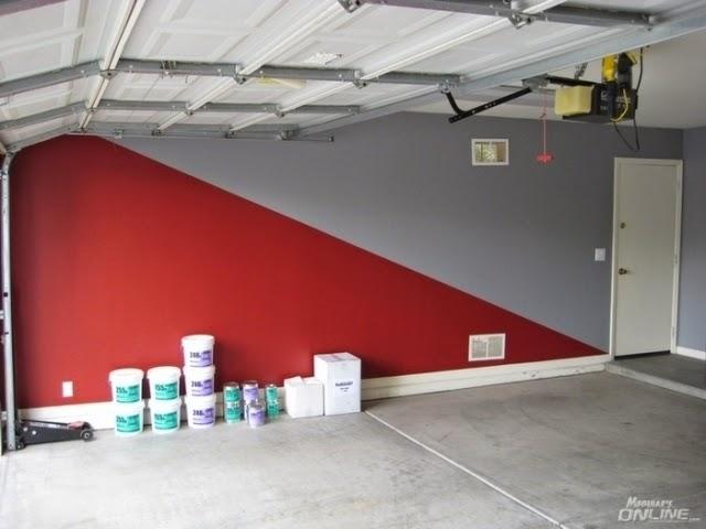 Garage wall paint designs