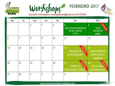 WORKSHOPS FEVEREIRO 2017