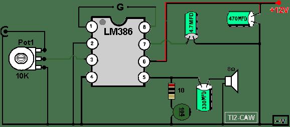 Усилитель звука на микросхеме lm386