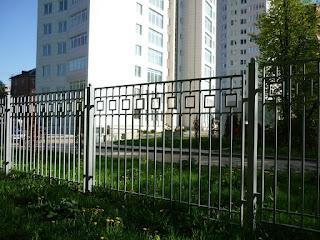 Забор металлический из профильной трубы. Фото 4