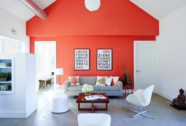 ideas to paint living room accent wall