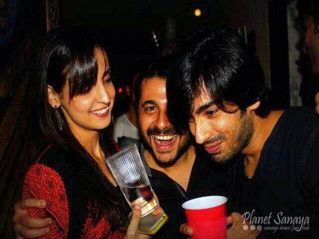 Sanaya Irani At Rakesh Vashisth's Birthday Party