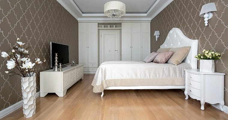 12 white bedroom designs and concepts in classic style for Classic white bedroom