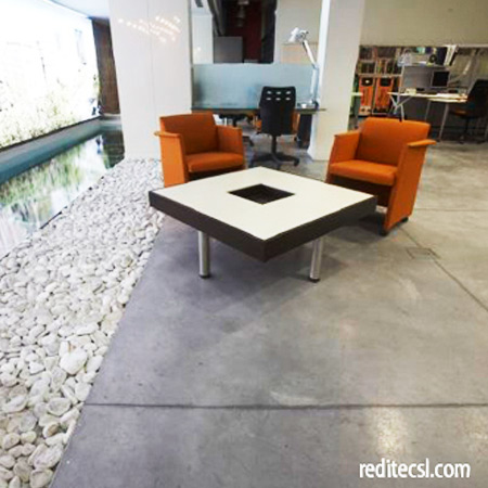 Doos interiorismo pavimentos - Suelo de cemento pulido precio ...