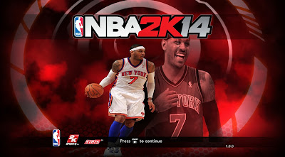 NBA 2K14 Melo Game Title Screen Mod