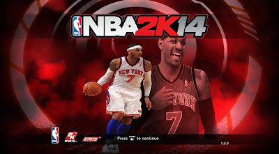 NBA 2K14 Melo Game Title Screen Mod