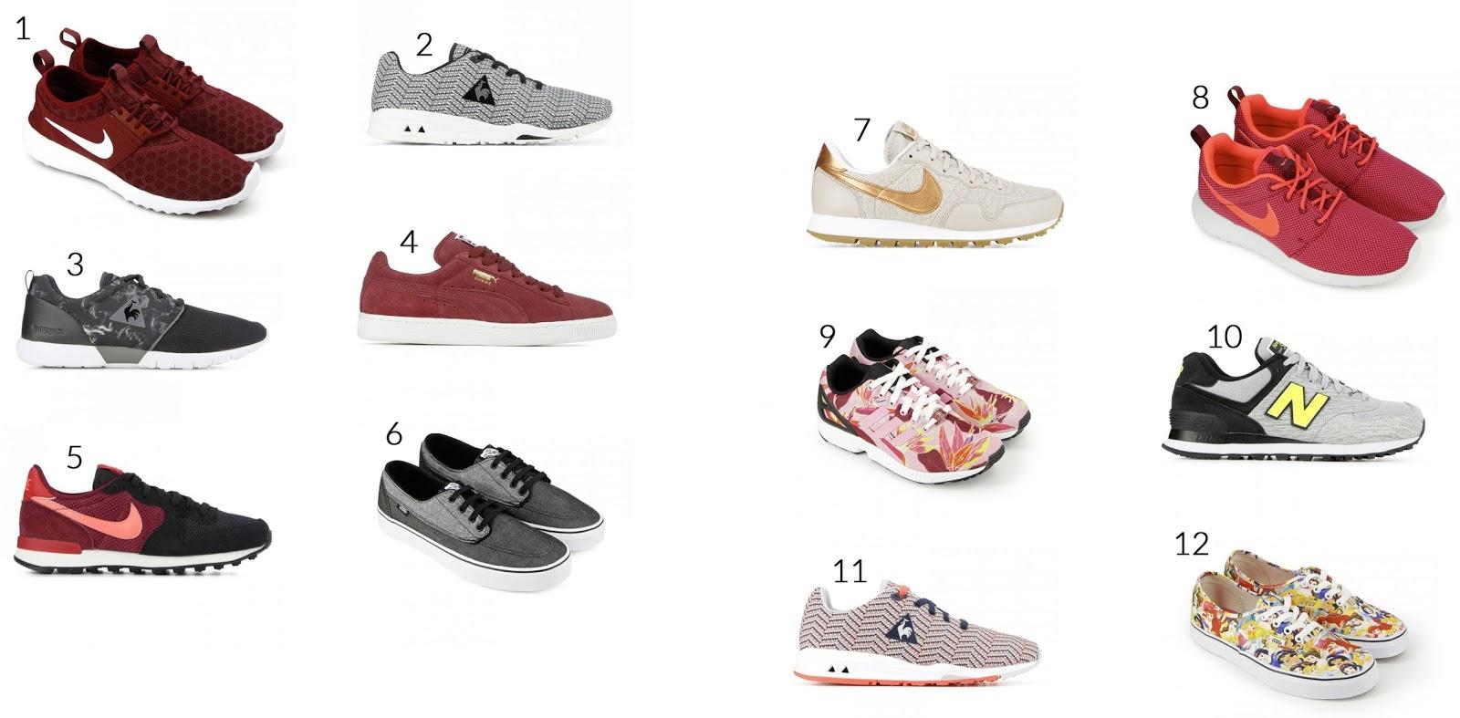 Sélection sneakers courir.fr