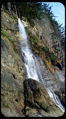 third beach waterfall