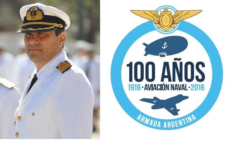 Nuevo Comandante de la Aviación Naval Argentina