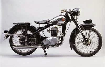 gambar sepeda motor klasik