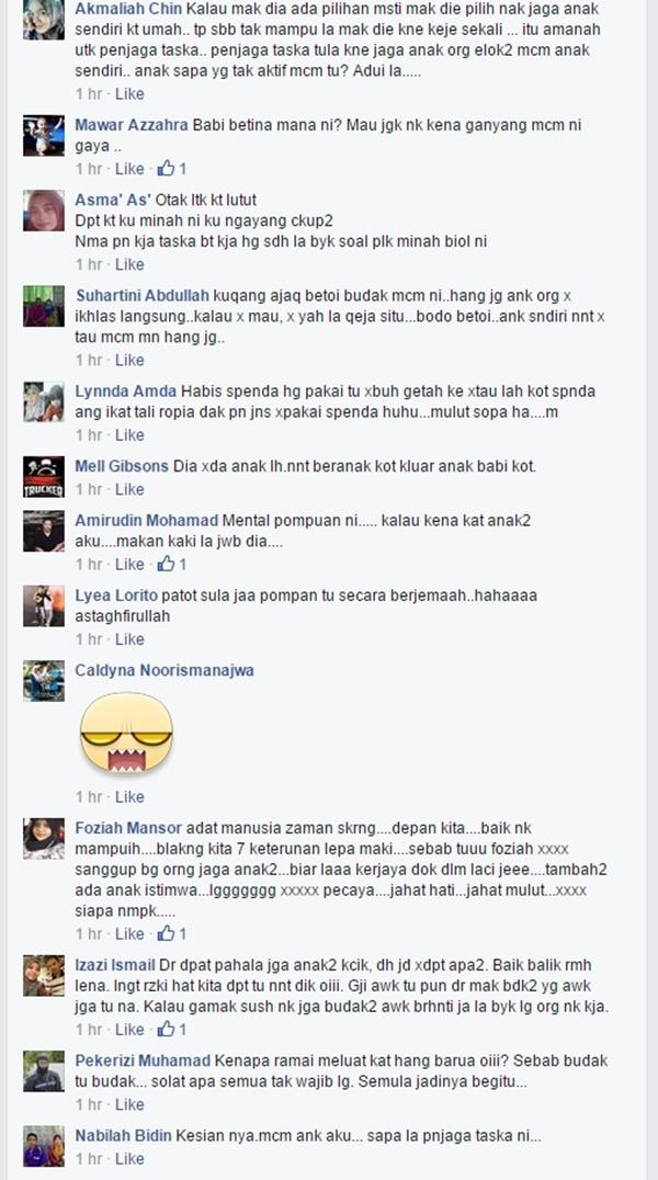 KECOH!! Tindakan Pengasuh Ini Undang Kemarahan Netizen!
