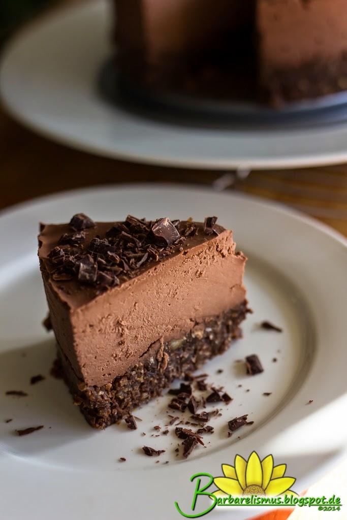Barbarelismus: Raw Vegan Chocolate Cheesecake