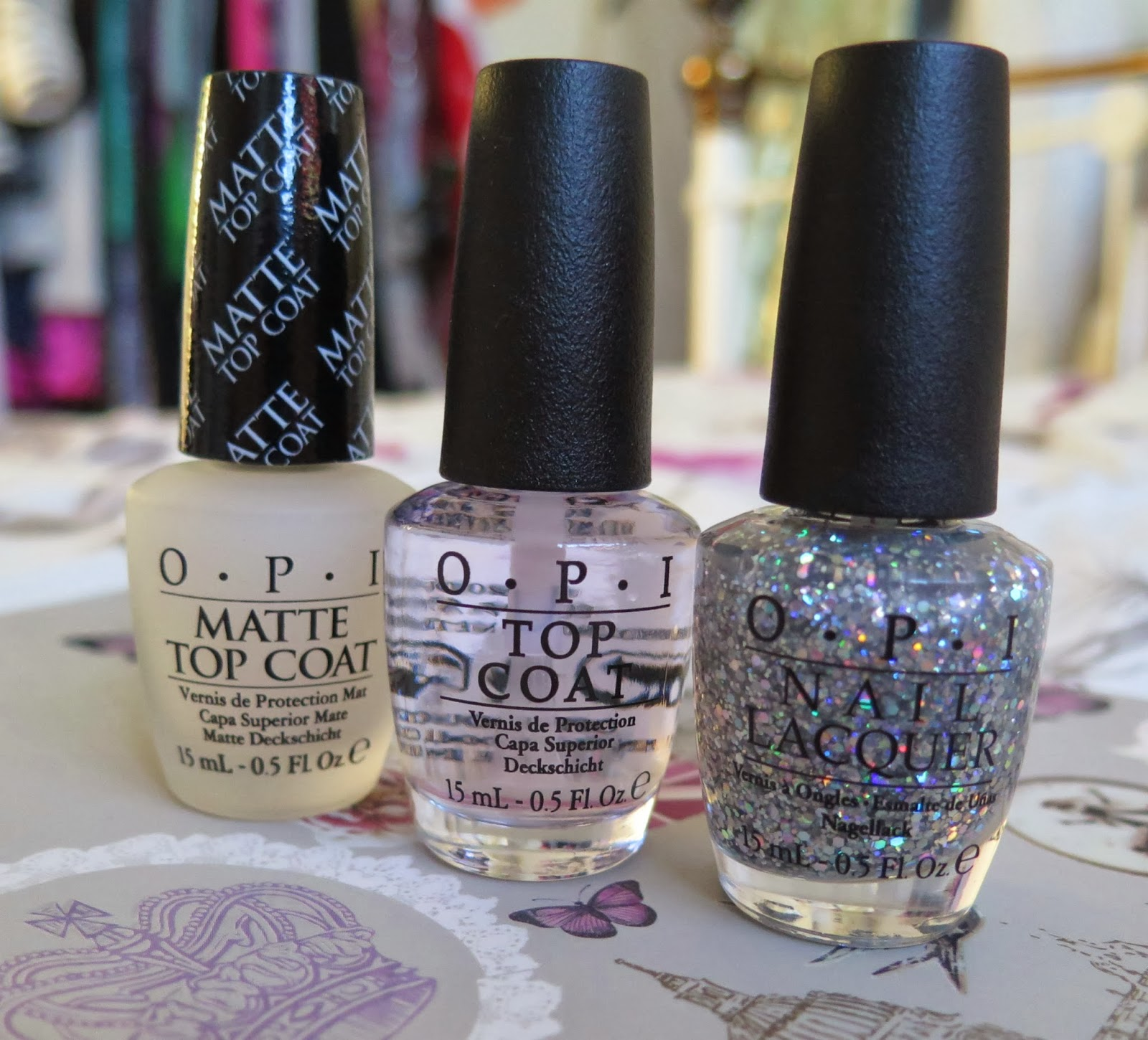 OPI top coats