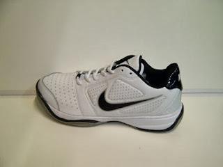 Sepatu Nike Tenis putih hitam,Sepatu Nike Tenis murah ecer