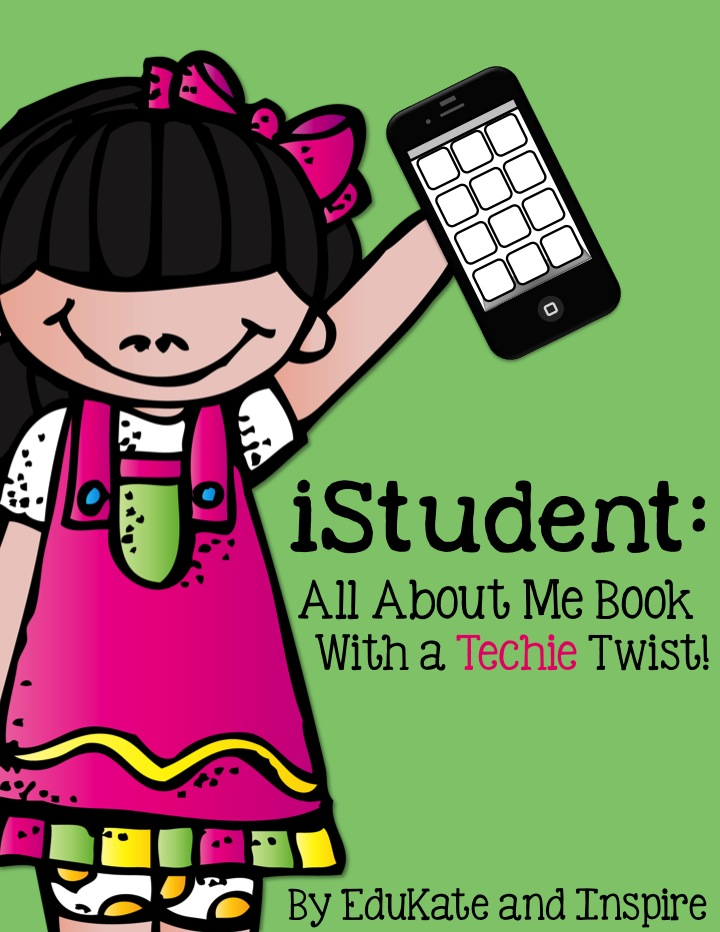 IStudent All About Me Book