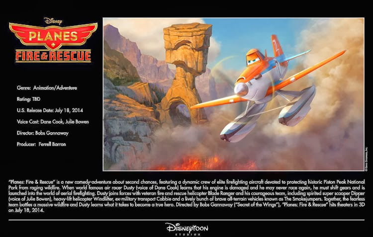 July 18, 2014 – Planes Fire & Rescue