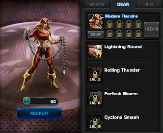 Thundra's gear