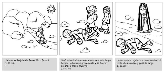 EVANGELIO DEL DOMINGO PARA NIÑOS: S. LUCAS 10,25-37 (14 de julio ...