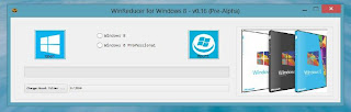 Win Reducer 8 - Ubah tampilan Installer Windows 8