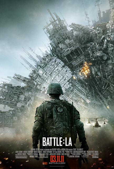 battle los angeles poster 2 - Este poster de Battle Los Angeles está masivo!