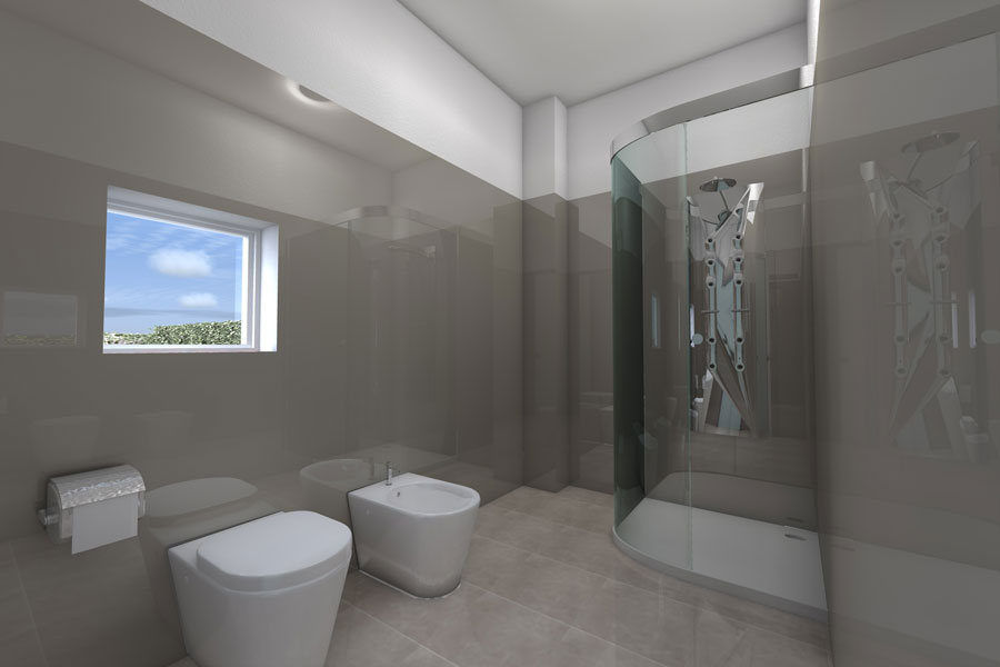 Bagno moderno in resina ~ mattsole.com