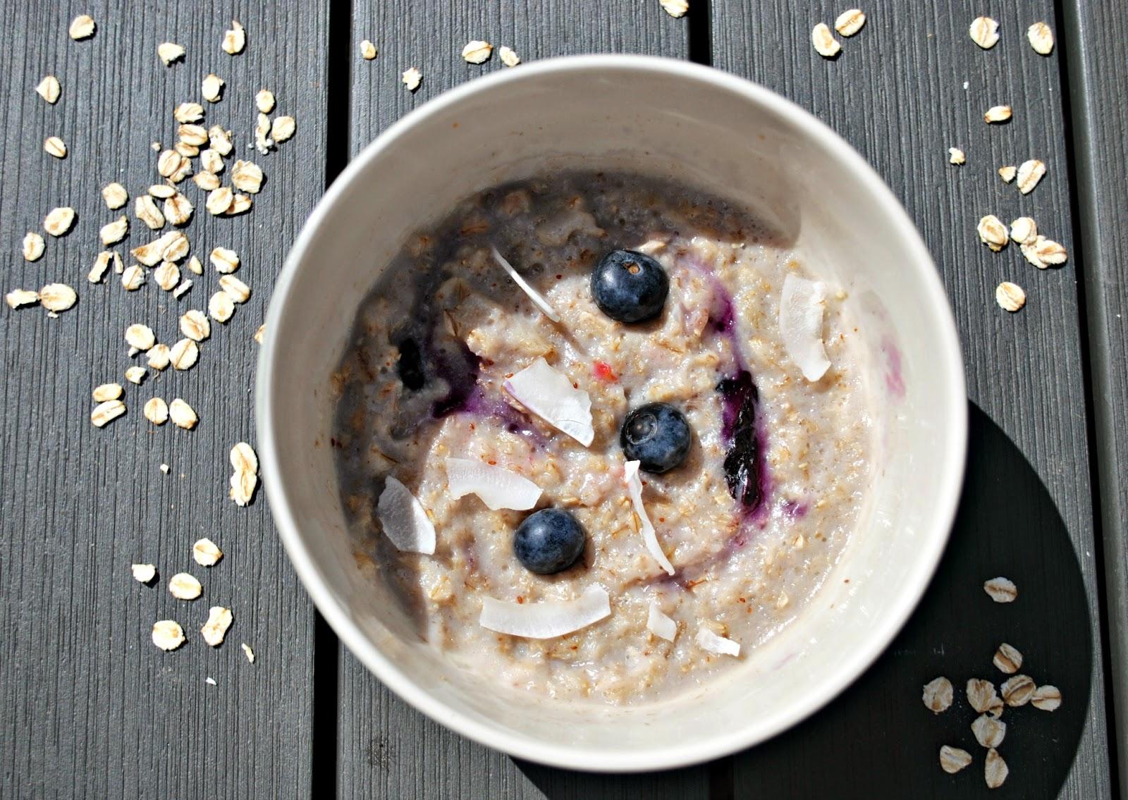 Flahavan's Blueberry Coconut Porridge