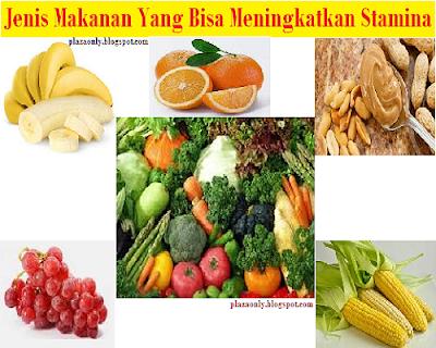 Jenis Makanan Yang Bisa Meningkatkan Stamina