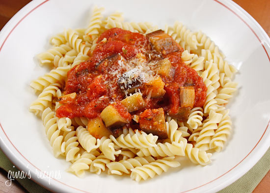 Eggplant And Tomato Sauce Recipe — Dishmaps