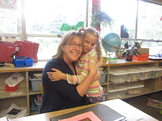 Alena and her Second grade teacher