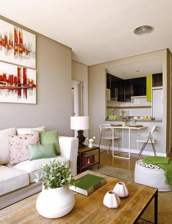 Blog by nela 60 m2 con mucha personalidad for Casas pequenas y comodas