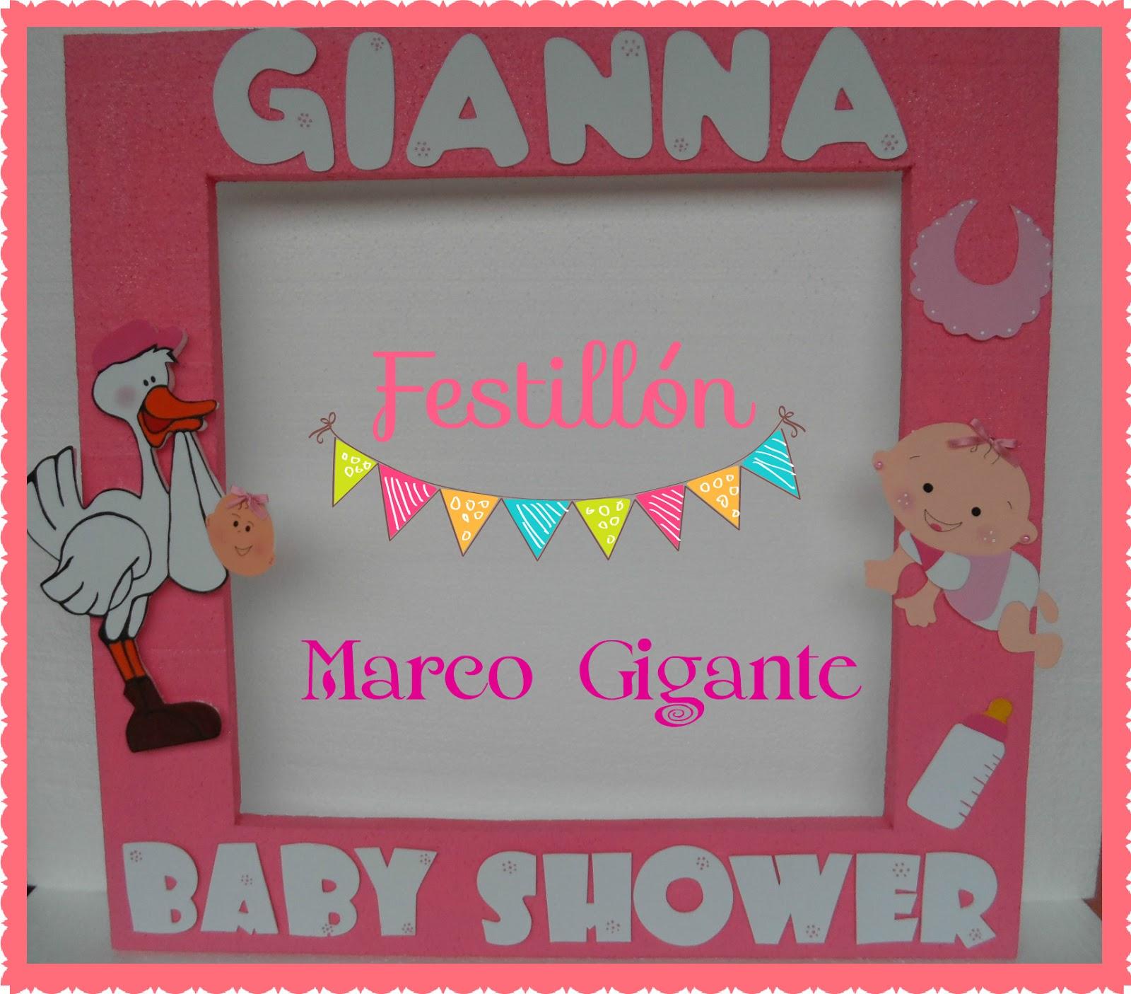 Festillón: Marcos Gigantes para Baby Showers !!!!
