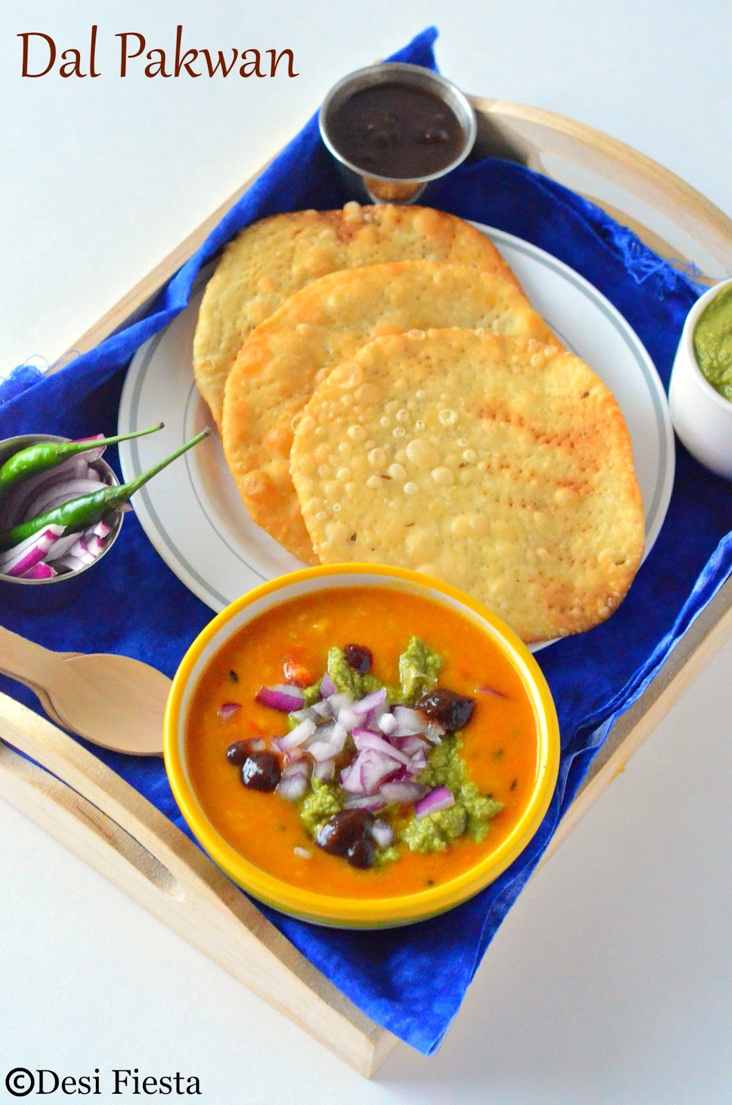 How to make Dal pakwan ?