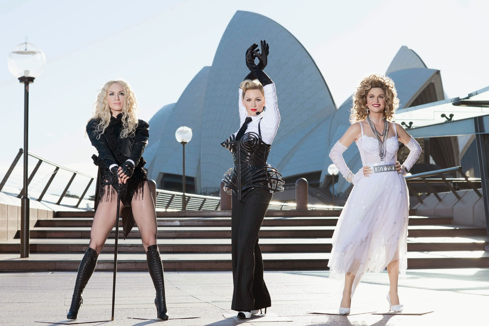 Madonnas at Madame Tussauds Sydney darling harbour