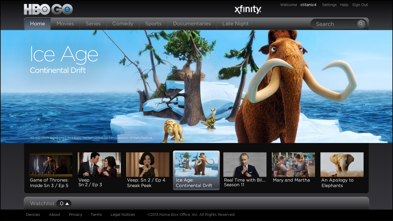 To Sign In Hbogo This Site Sends You To Your Tv Provider Where You Have To