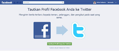 Update Twitter Via Facebook
