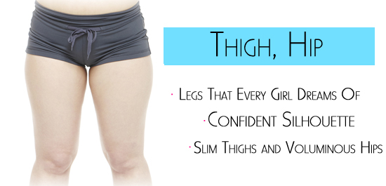 how to get rid of upper thigh and hip fat