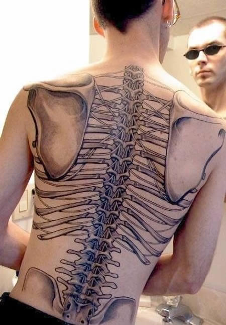 12 Craziest And Strange Anatomical Tattoos