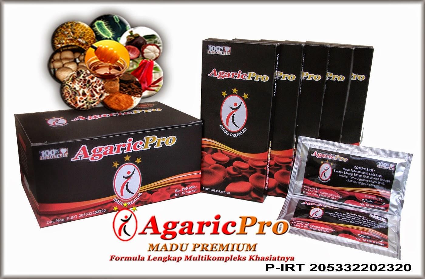 AgaricPro Obat Herbal Tradisional Asam Urat Paling Ampuh