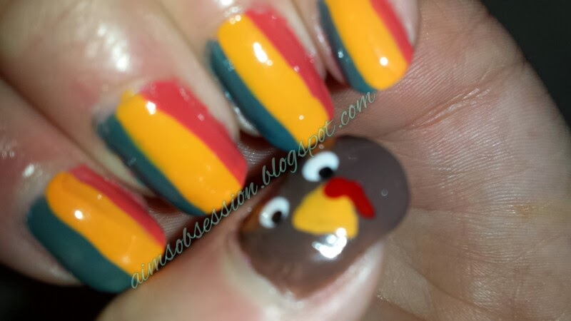 Aims Obsession Turkey Nail Art