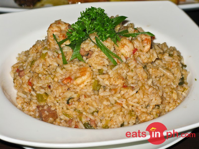 Shrimp Jambalaya from Cottage Kitchen Cafe