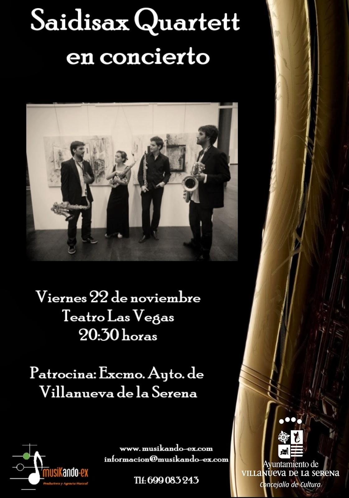 Concierto de Saidisax Quartett