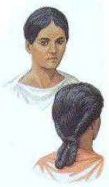 Peinado mujeres romanas