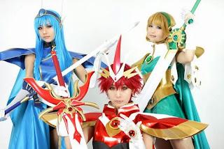 Magic Knighr Rayearth Cosplay by Ren, Tasha, Yukari